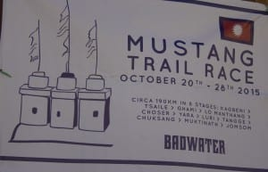 Mustang trail race